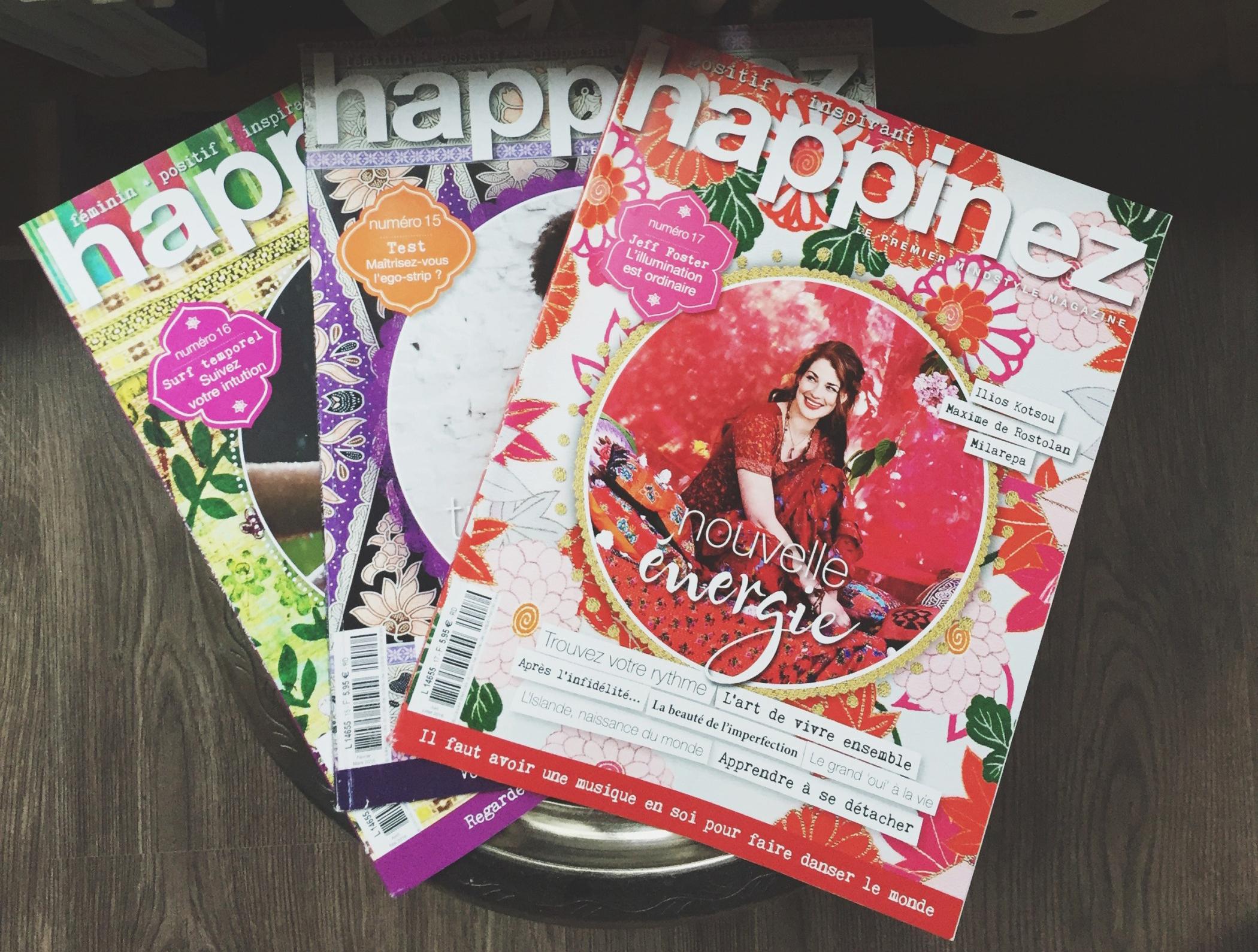 Magazine Apprendre La Photo happinez, un magazine qui parle (enfin) de l'essentiel!   la